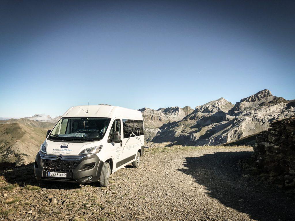 11- Rutas panoramicas en furgoneta Pirineos